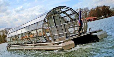 Solarboot der Maschsee-Flotte Hannover