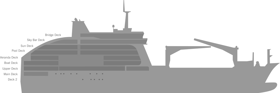 Decksplan Aranui 5 - anklicken zum Vergrößern